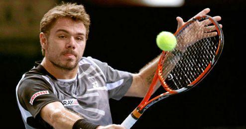 Wawrinka venció a Dominic Thiem en dos sets.
