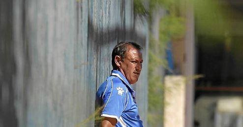Pirri, entrenador del Morón.