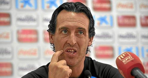 Emery, durante una rueda de prensa.