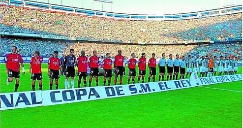 Imagen de la final de la Copa del Rey en 2005.