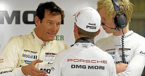 Mark Webber, en la pasada edición de las ´24 horas de Le Mans´.
