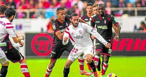 Aleix sortea jugadores del Granada