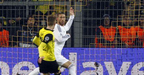 Reus en un partido de Champions frente al Real Madrid