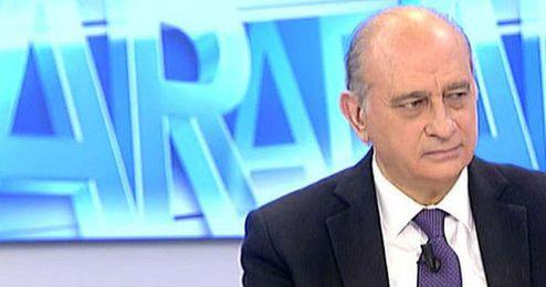 El ministro de Interior en Telecinco