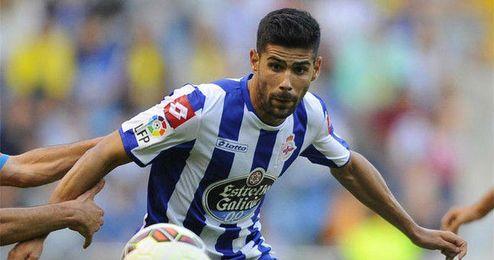 Juanfran será baja por lesión ante el Málaga
