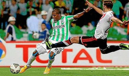 Partido de ida de la final de la Copa Sudamericana.