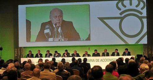 Imagen de la Junta General Ordinaria de Accionistas del Betis.