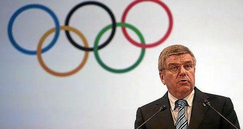 El presidente del COI, Thomas Bach, durante la 127 Sesión de la Comisión Ejecutiva