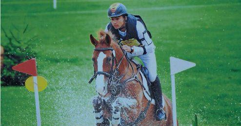 El sevillano Paco Gaviño se colgó la medalla de oro en el reciente Campeonato de España de Concurso Completo, celebrado en Madrid.