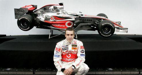 Alonso regresa siete años después a McLaren