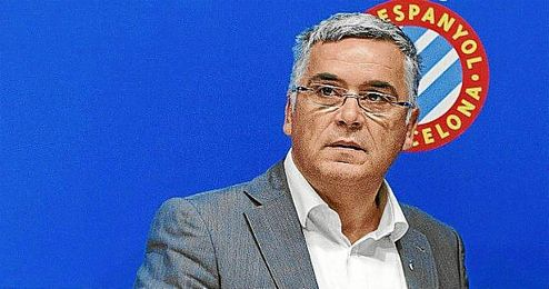 El presidente del Espanyol, Joan Collet.