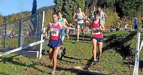 Prueba de atletismo celebrada en Llodio (Álava).