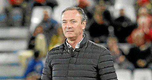 El técnico del Almería, Juan Ignacio Martínez.