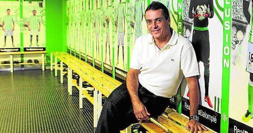 Alexis, director deportivo del Betis, antes fue secretario técnico.