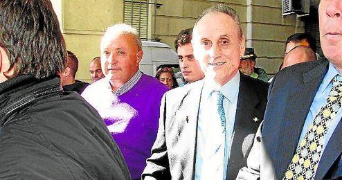 Manuel Ruiz de Lopera, en una de sus escasas apariciones públicas.