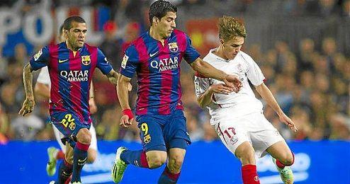 Denis Suárez está cedido por dos años y el Barça desea recuperarlo en junio, pero las normas lo impedirían.