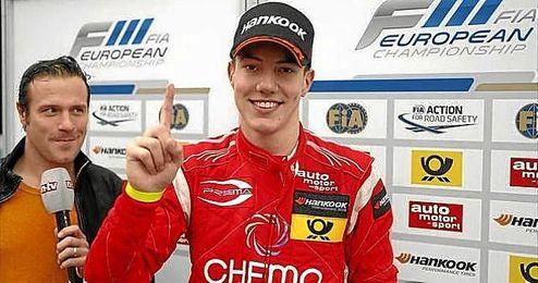 Marciello, durante su temporada en la GP2.