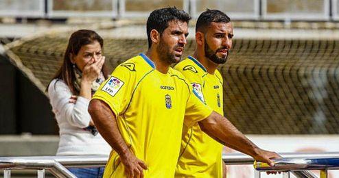 Nauzet Alemán y Culio, dos importantes efectivos que recupera Paco Herrera.