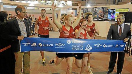 El Zurich Maratón de Sevilla fue presentado ayer en Madrid