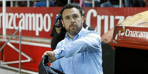 Sergio, durante el encuentro.