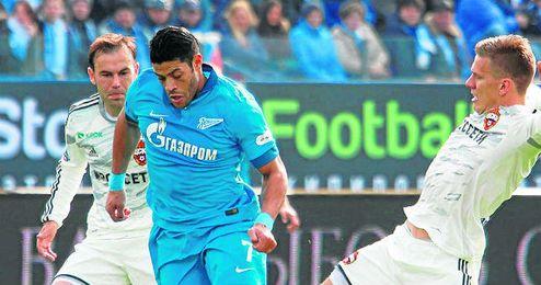 Hulk decantó la balanza a favor del Zenit.