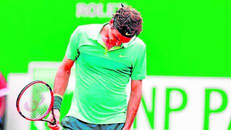Roger Federer cae ante Monfils