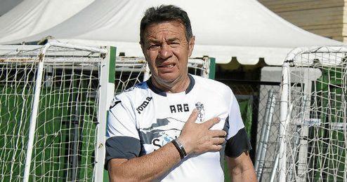 Abel Resino llegó al Granada en enero.