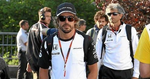 Fernando Alonso no es optimista para Monza.
