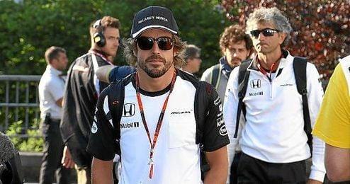 Fernando Alonso no es optimista para Monza.