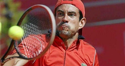 En el siguiente encuentro García-López se batirá con el francés Nicolas Mahut.