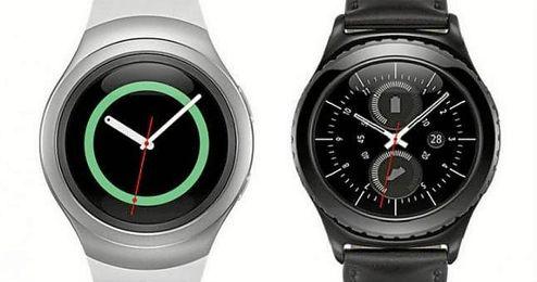 Los nuevos relojes Gear S2 y Gear S2 Classic.