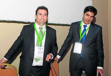 José Miguel López Catalán (izquierda) y Ángel Haro (derecha) formarán una nueva candidatura.