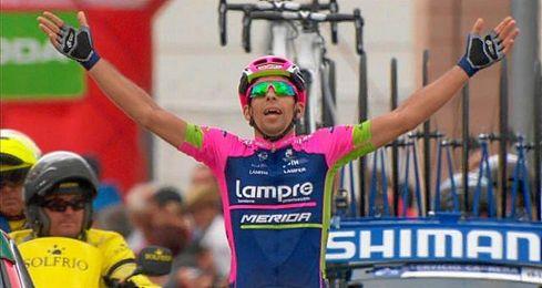 La etapa, disputada entre Calatayud y Tarazona sobre 178 kilómetros.