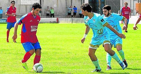 Miguelito Blázquez fue uno de los jugadores más activo en el partido del domingo en La Puebla.