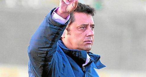 Paco Cala, entrenador del Antoniano.