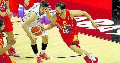 La selección española pasó por encima de Islandia en el penúltimo partido del Grupo B del Eurobasket 2015.
