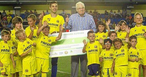 El Villarreal siempre se ha caracterizado por las causas solidarias.