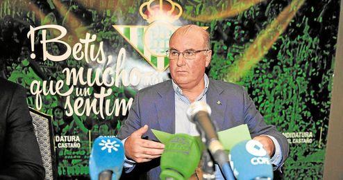 Manuel Castaño espera tener apoyos suficientes para mandar.