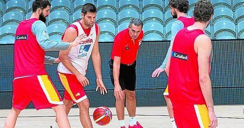 La selecci�n espa�ola afronta esta tarde un partido a vida o muerte, en los cuartos de final del Eurobasket, frente al potente combinado griego.