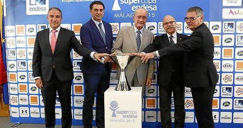 Presentación del torneo en la sede de Turismo Andaluz en Málaga.