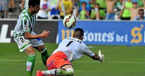 Imagen del encuentro entre Betis y Sporting del pasado año.