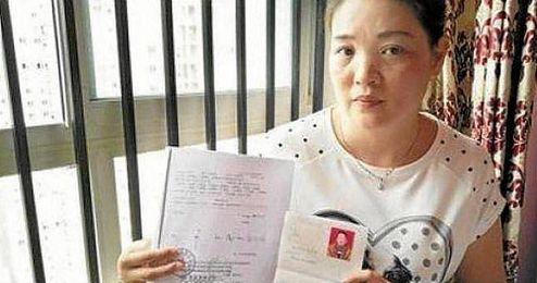 Imagen de la afectada en el periódico ´South China Morning Post´.