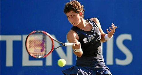 En la segunda ronda se medirá a la ganadora del duelo entre Ana Ivanovic y Camila Giorgi.