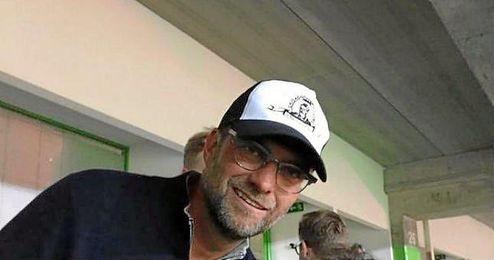 J�rgen Klopp en el Jos� Alvalade viendo un partido del Sporting.