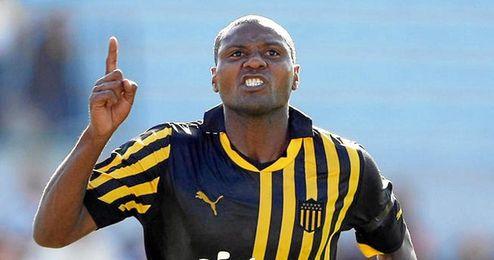 Zalayeta jugó dos años en el Sevilla F.C.