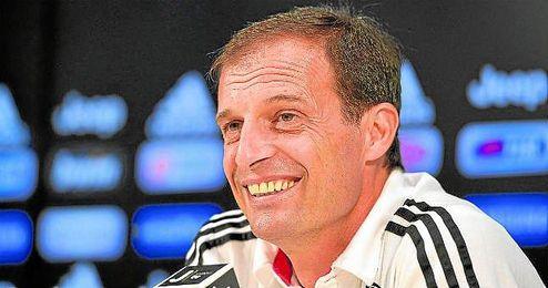 El técnico de la Juventus, Massimiliano Allegri, anunció ayer que realizará rotaciones ante el Frosinone.