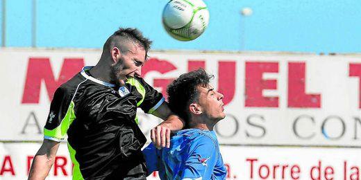 Serrano se impone en el salto a un rival en el San Jos�-Estrella.