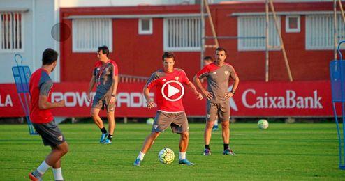 Konoplyanka ha vuelto a los entrenamientos.