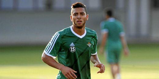 Tarek, durante un entrenamiento.