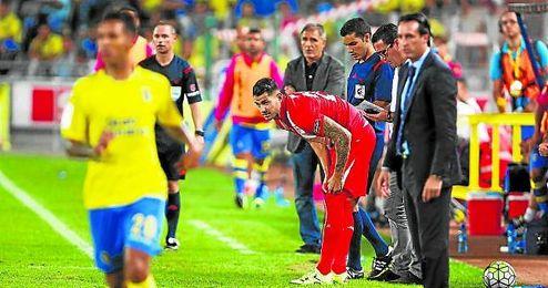 Vitolo fue uno de los jugadores que mand� ayer un mensaje de optimismo.